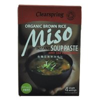 SOUP ORGANIC BROWN RICE MISO 8*60 GR