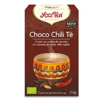 YOGI TEA CHOCOLATE Y CHILI 6*37.4 GR