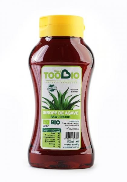 SIROPE AGAVE CRUDO BIO 6*500ML TOO BIO