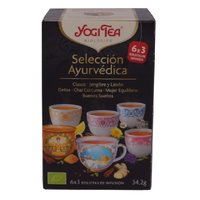 YOGI TEA SELECCION AYURVEDA 6*34.6 GR