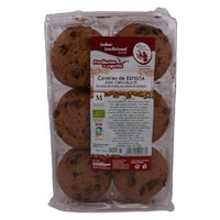 COOKIE ESPELTA CHOCOLATE SIN PALMA ECO 16*300GR