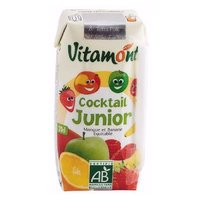 ZUMO S/AZUCAR COCKTAIL JUNIOR VITAMON 6*20 CL