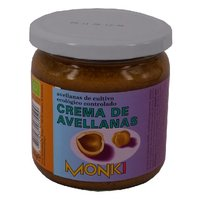 MONKI CREMA AVELLANAS ECO 6*330 GR
